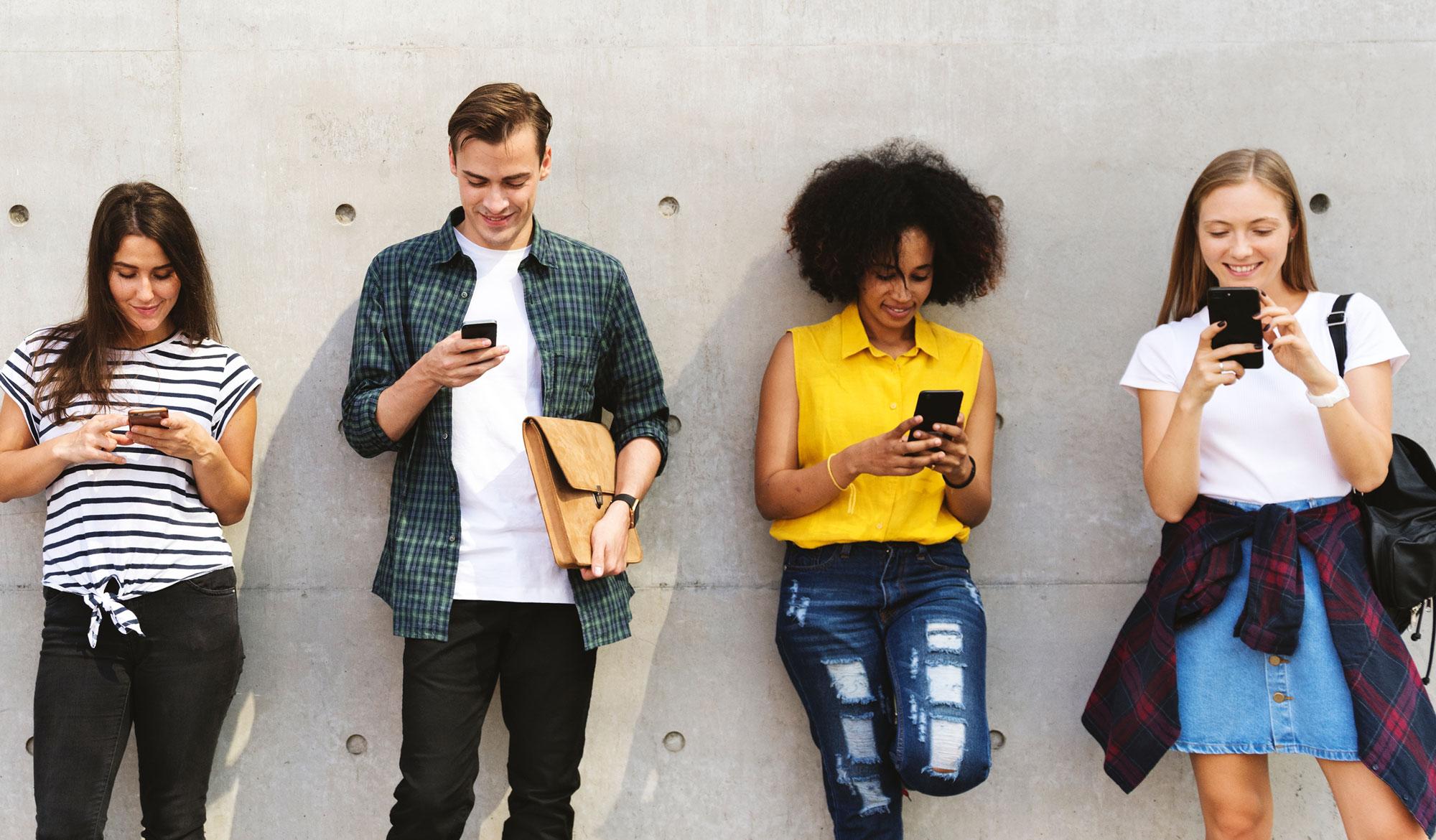 tasa de rebote jóvenes móvil