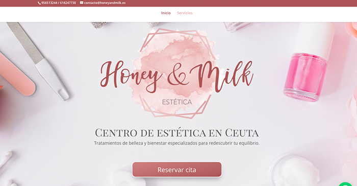 cita previa honey and milk