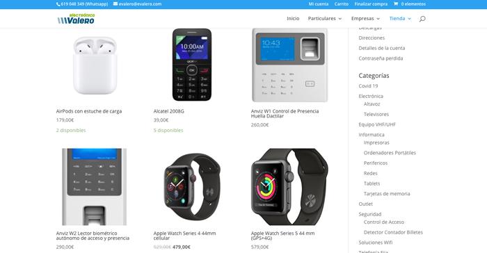 tienda online ecommerce