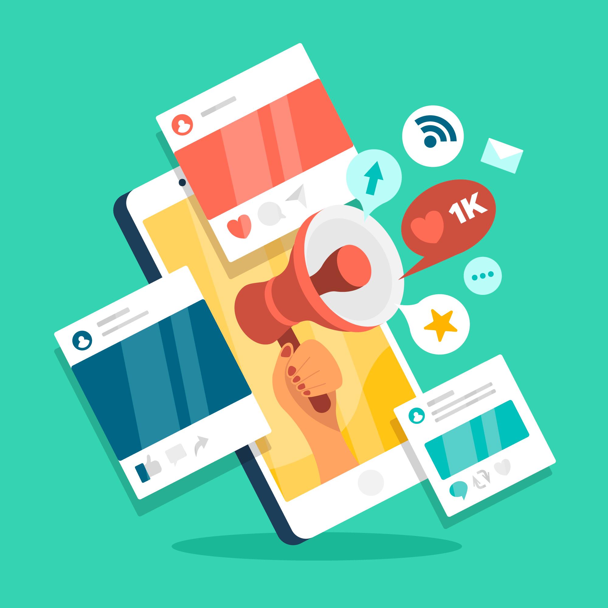 redes sociales método smart